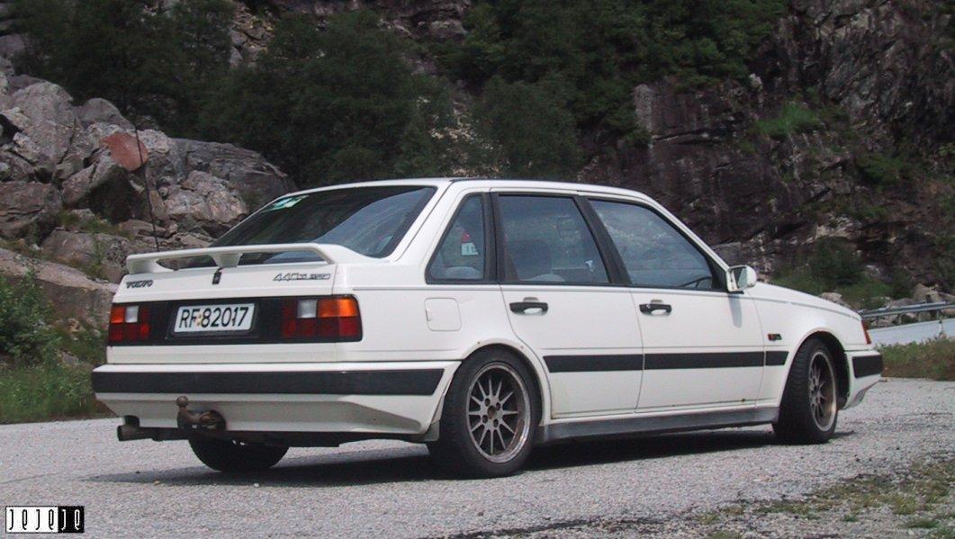 1989 Volvo 440 Turbo Intercooler til salgs!